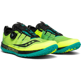 saucony Switchback ISO Chaussures Homme, citron/black